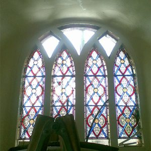 Original Stain-Glass In-Situ