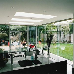 Glass Extension Interior