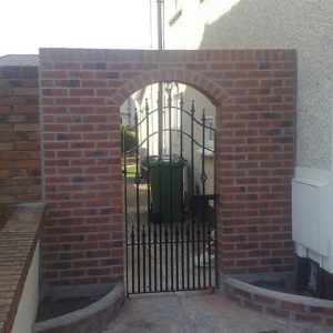 Side Gate & Wall