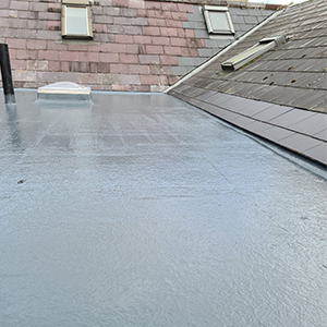 New Fibreglass Roof - Vented And Insulated